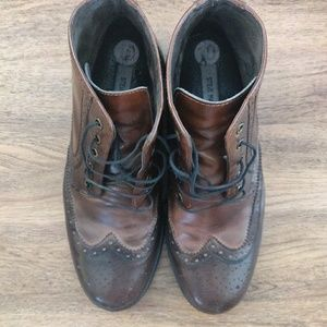 Steve Madden Oxford Boots Brown Men's 10